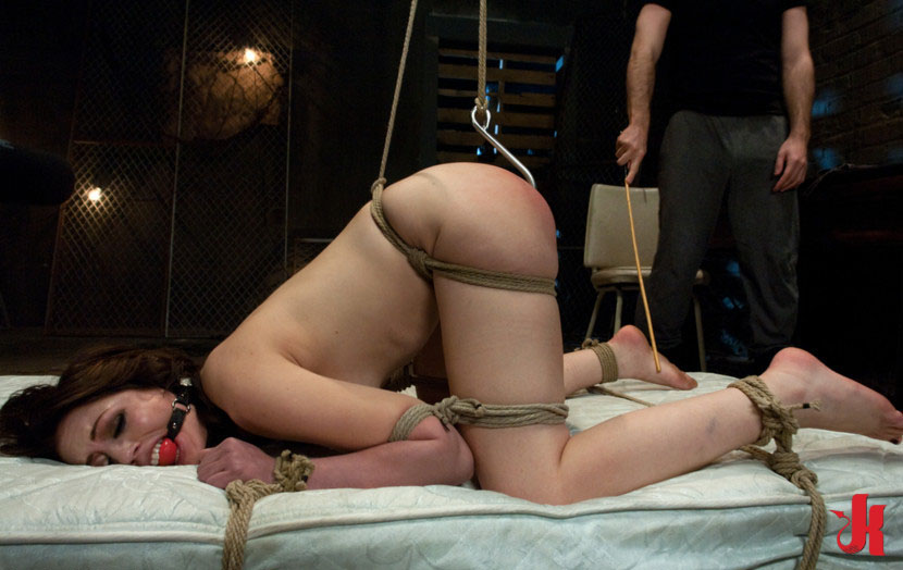 sex and submission beautifull slut tied in ropes and