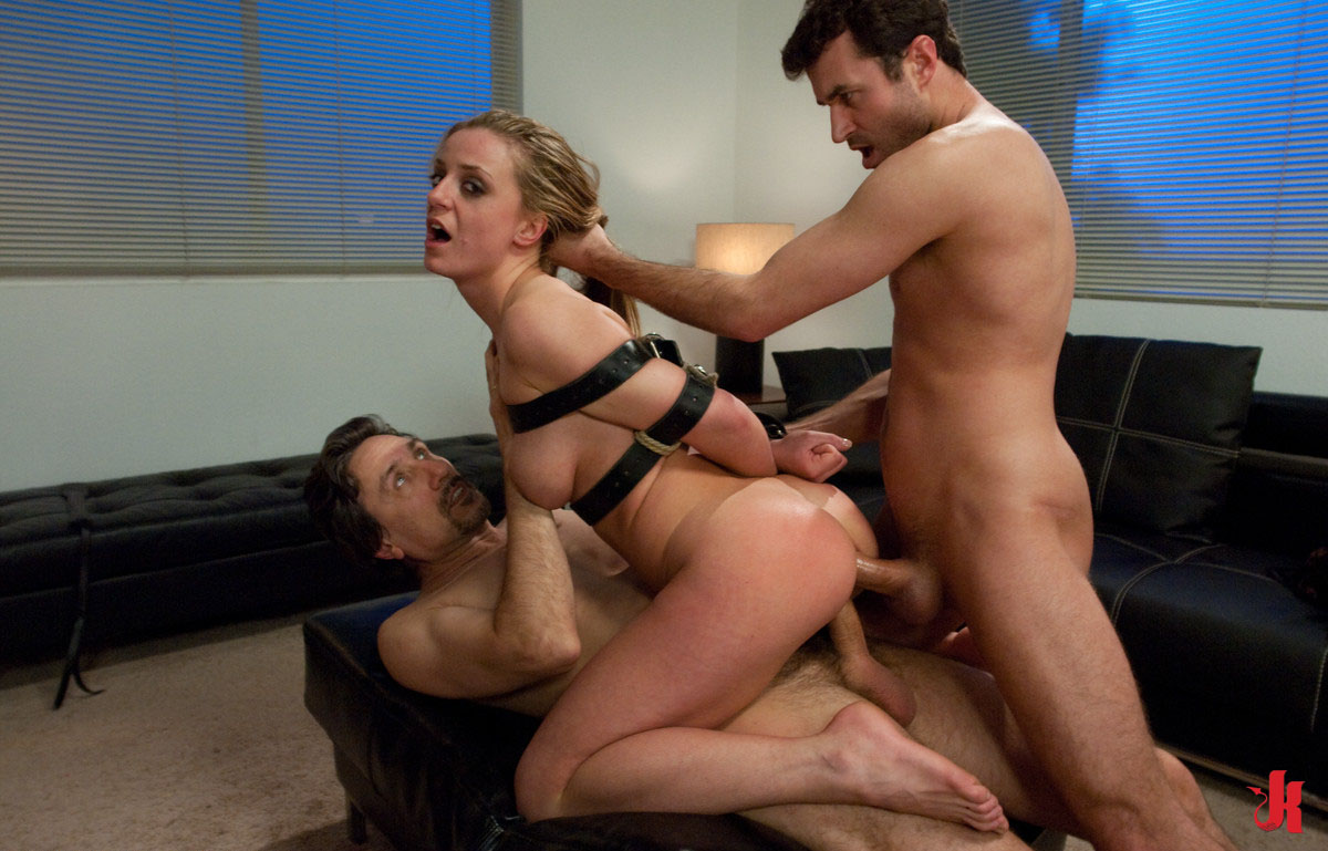 Teen girl bondage, BDSM and humilation in group threesome xx